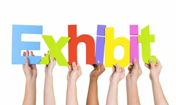 exhibiting tips